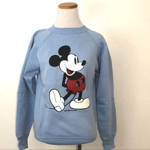 Vintage 1970s Mickey Mouse Sweatshirt Small